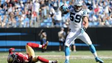 Luke Kuechly not cleared in concussion protocol and ruled out for Sunday