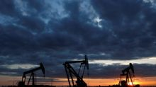 Oil steadies as U.S. crude stocks draw but fuel inventories rise