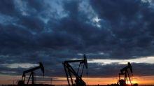 Oil up 1 percent, buoyed by U.S. stock drawdown