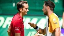 Medvedev knocked out by Struff in Halle