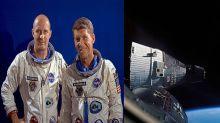 Los astronautas que comunicaron a la NASA que habían visto pasar el trineo de Santa Claus