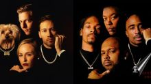 Roommates's Holiday card nod to Death Row Records goes viral