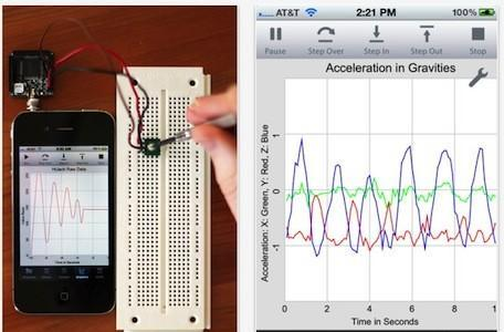 techBASIC 2.0 brings sensor data collection, analysis and visualization to iOS