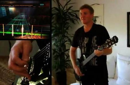 Rocksmith, as demonstrated by John 'Fatal1ty' Wendel