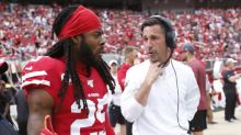 Richard Sherman contrasts coaching styles of Pete Carroll, Kyle Shanahan