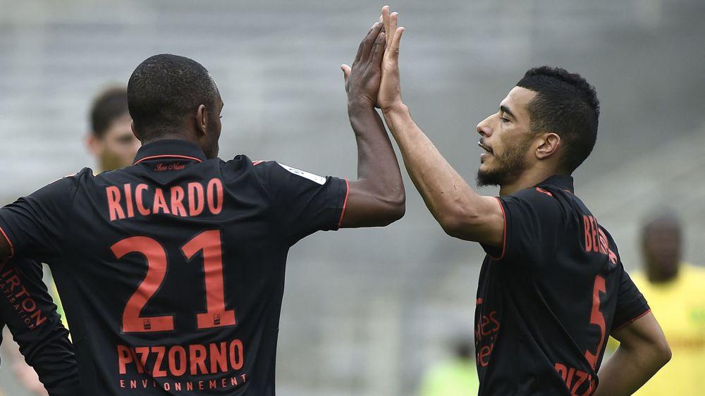 Le jeu niçois, le projet du club, Lucien Favre et leur avenir... Ricardo Pereira et Younès Belhanda en interview sur Goal