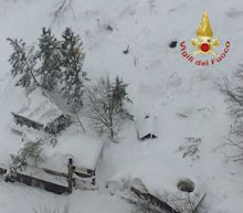 Deadly snow avalanche hits hotel in earthquake-stricken central Italy
