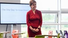 Sturgeon promises urgent review of 124,000 downgraded exam results