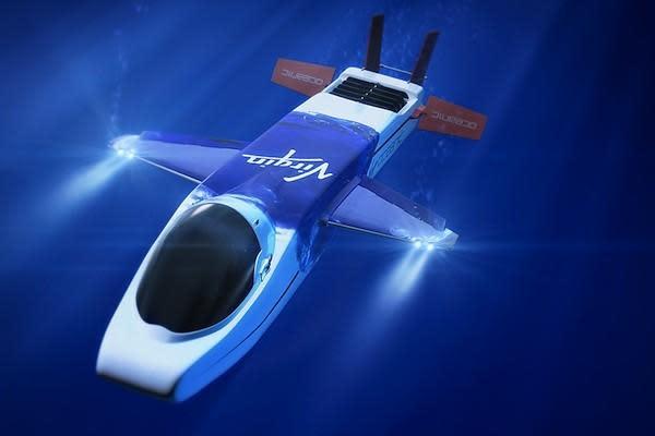 Richard Branson launches Virgin Oceanic to explore the ocean's depths