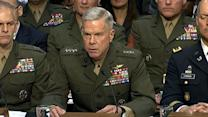 US military leaders grilled over sexual assaults