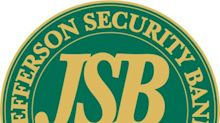 Jefferson Security Bank Announces Semi-Annual Dividend