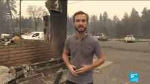 Incendies en Californie : un paysage d'apocalypse dans la ville de Paradise