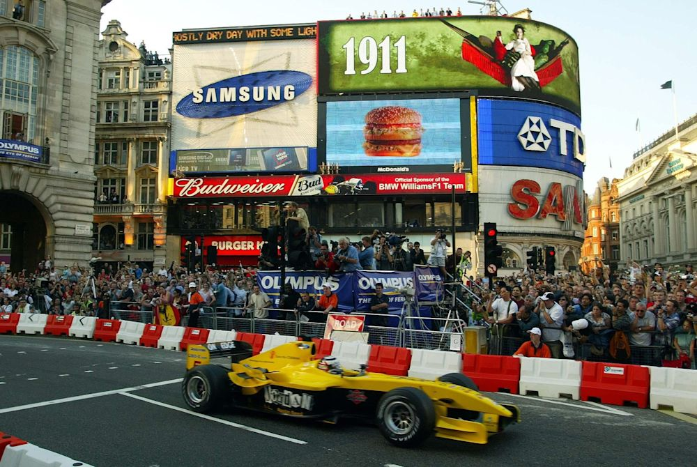 Formula One has staged talks with Westminster City Council over a demonstration run ahead of the British Grand Prix - PA Archive/PA Images