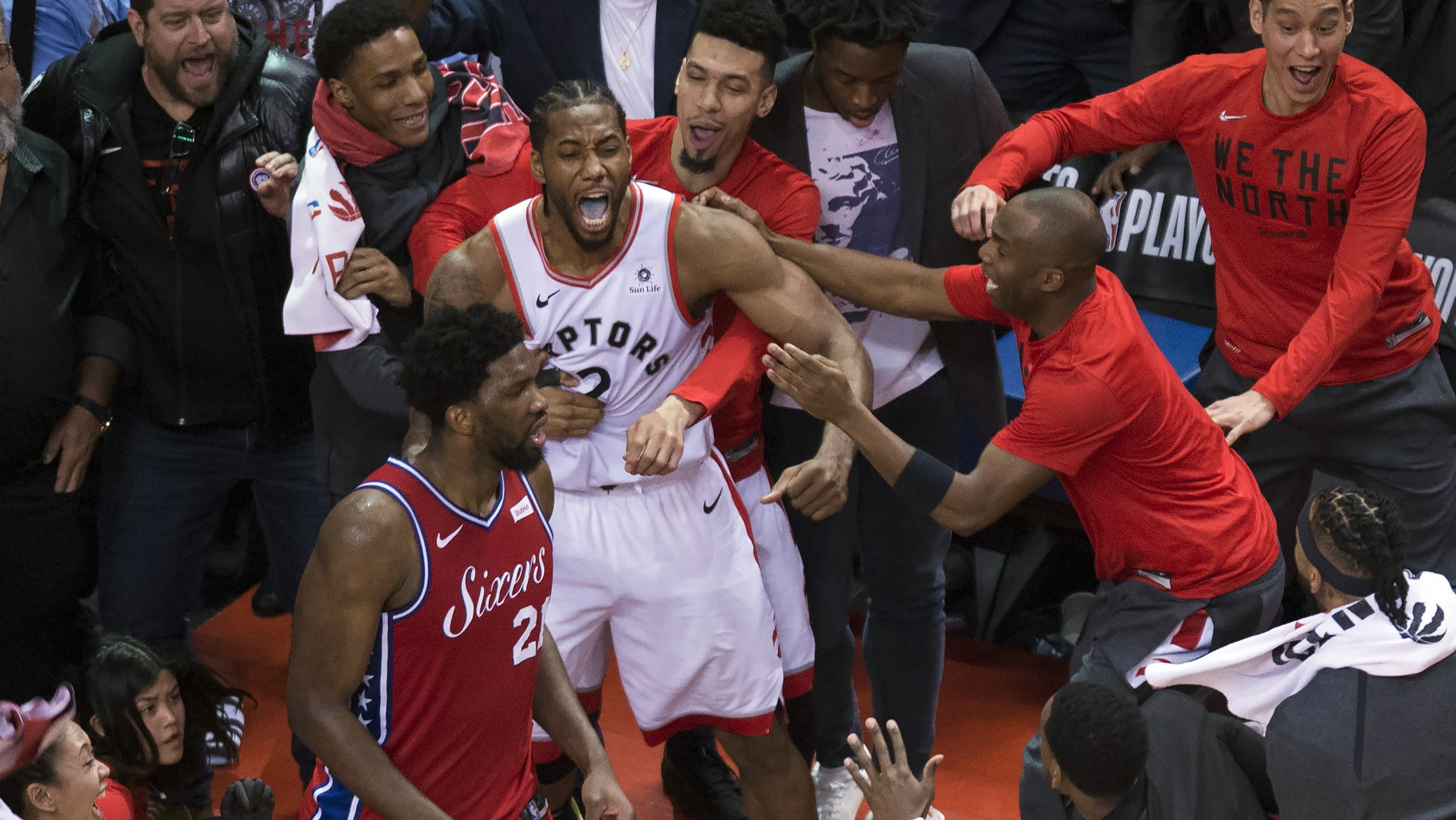 afd01284184e Kawhi Leonard s epic Game 7 winner didn t only eradicate the Raptors   tortured playoff past — it turned his own
