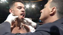 'Worst I've ever seen': Aussie boxer fights on with 'horrific' injury