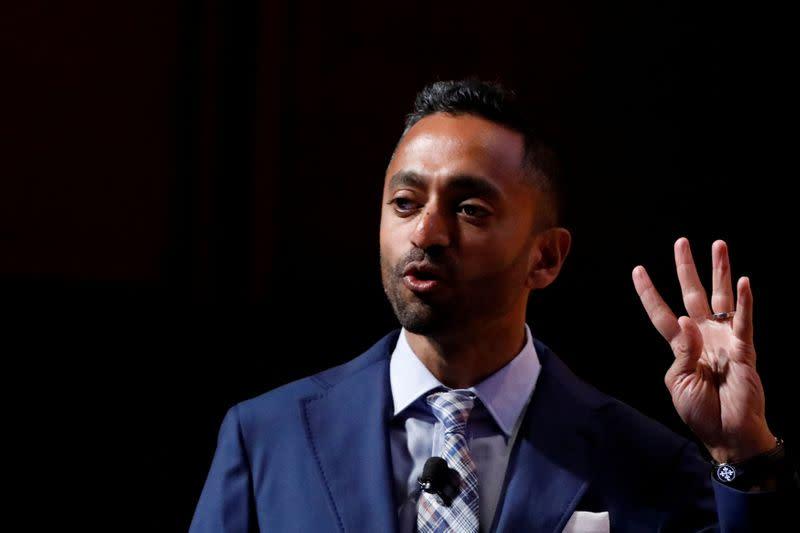 Investor Chamath Palihapitiya confirms selling shares in Virgin Galactic - Yahoo Finance