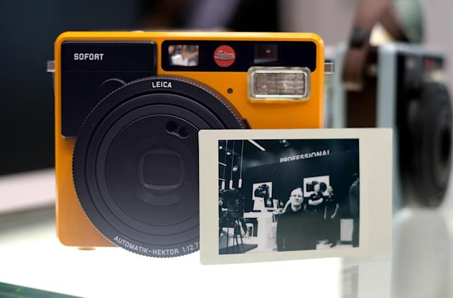 Leica's Sofort instant camera is better than it looks