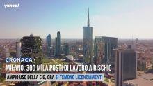 Milano, 300 mila posti di lavoro a rischio