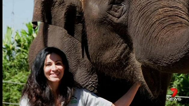Lucy Melo tells of elephant crush