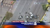 Chase Ends at Police Station