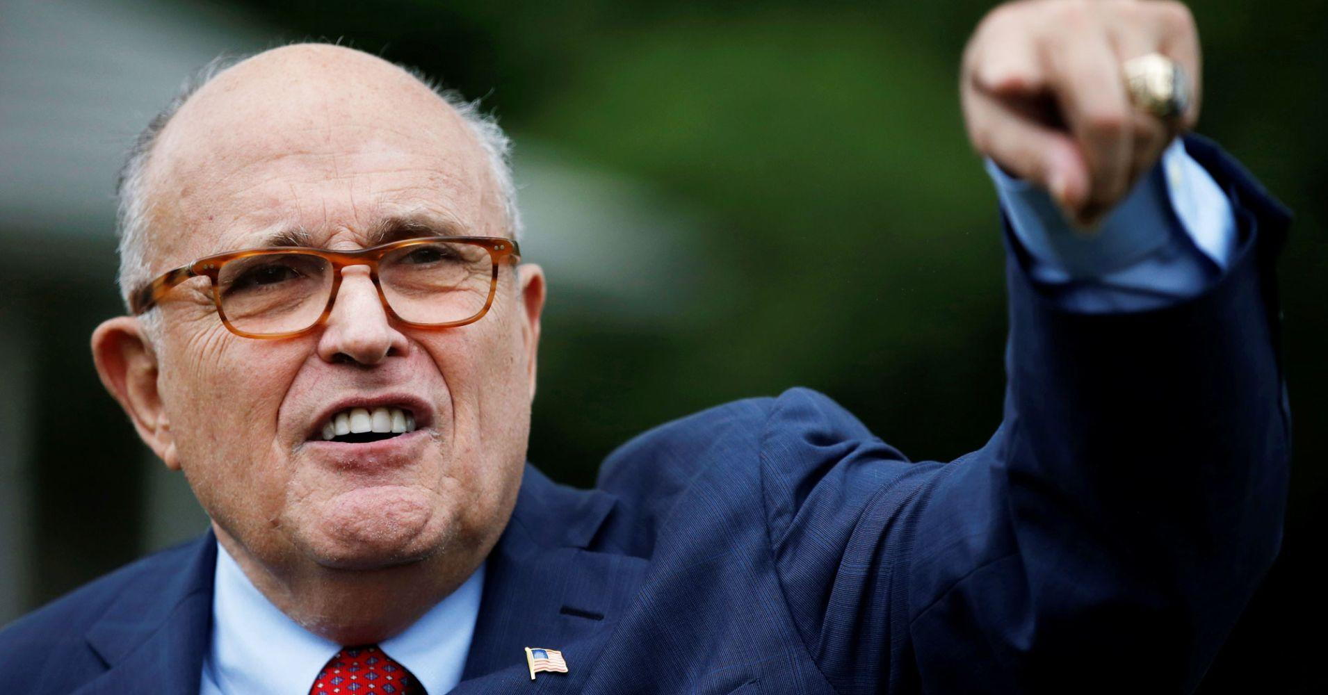 Rudy Giuliani on Mueller report: 'There's nothing wrong with taking information from Russians'