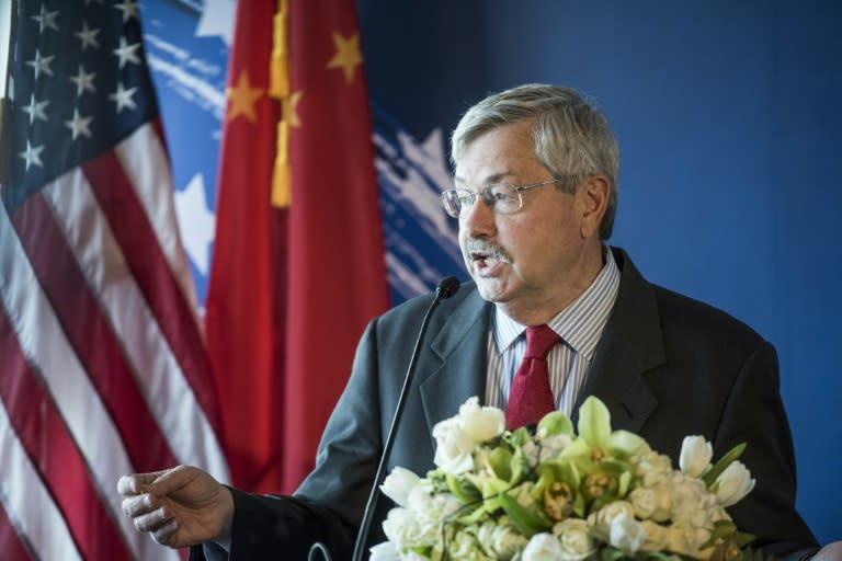 US Ambassador to China Resigning Before Election