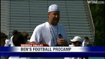Ben Roethlisberger holds youth camp at Seneca Valley