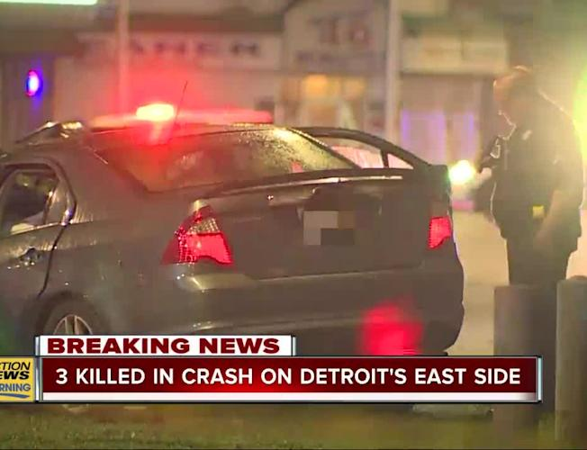 3 killed in accident on Detroit's east side [Video]