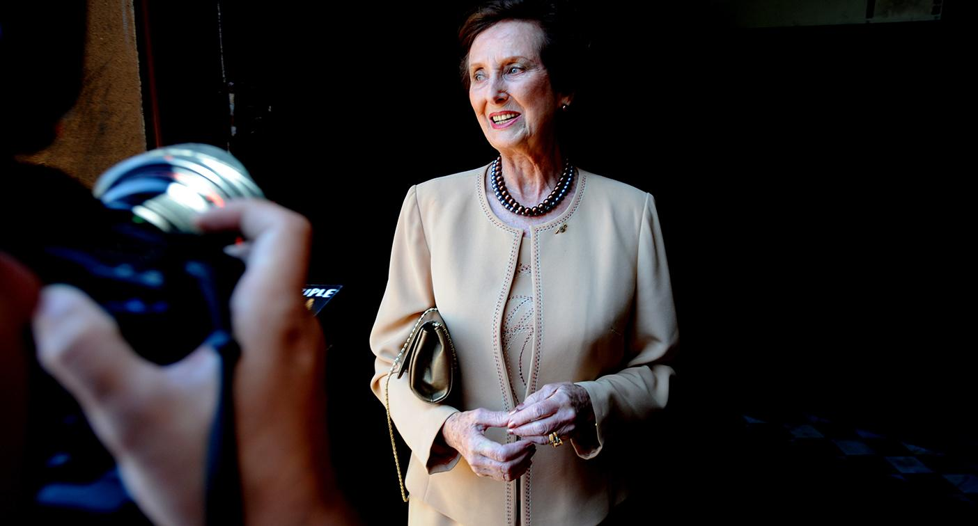 Fashion and etiquette icon June Dally-Watkins dies aged 92