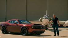 Matt LeBlanc proves a Dodge Demon is fast enough to land a NASA jet