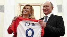 Presidenta croata pide a rusos apoyar a su país en final