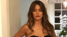 Sofía Vergara complaining about a tight dress and heels is all of us