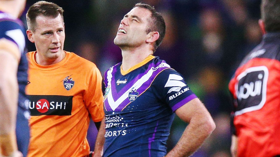 Storm overcome five injuries and a sin bin to beat Eels