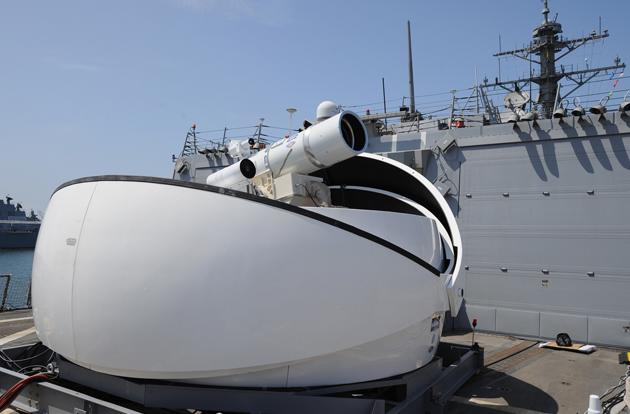 The Navy's new laser can do more than just shoot down drones