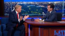 Unstoppable: Donald Trump Steamrolled Over Colbert