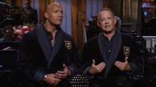Dwayne Johnson and Tom Hanks Announce 2020 Presidential Ticket in 'SNL' Season Finale Monologue