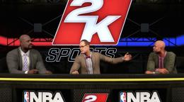 NBA 2K 16 - Shaq, Ernie, and Kenny Studio Show