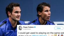 Federer and Nadal turned their rivalry into the world's ultimate tennis bromance