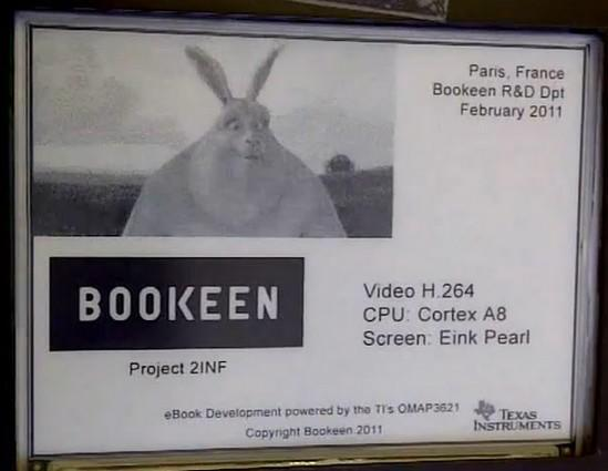 Bookeen shows off FMV on a standard E Ink Pearl display (video)