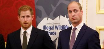 Prince Harry 'blasts' William in standoff over Meghan