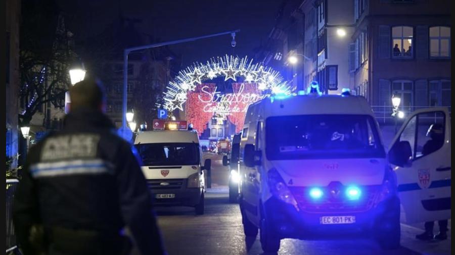 Tiroteo en Estrasburgo deja varios muertos y heridos