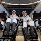 NASA Astronauts aboard SpaceX Capsule Land Safely in Gulf of Mexico