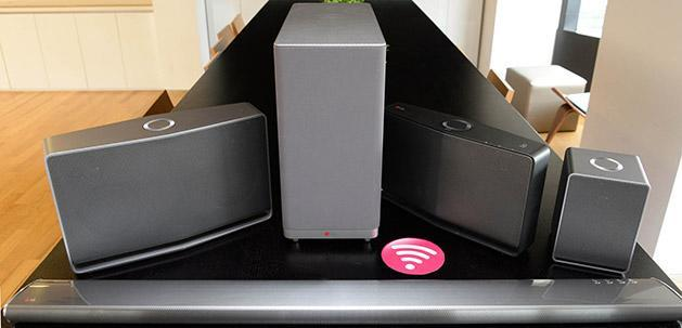 LG's Music Flow offers multi-room speakers controlled by a messaging app