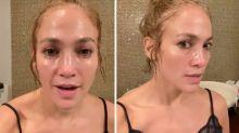 Jennifer Lopez hits back after fan claims she uses Botox