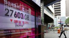World stocks fall on reports China-US trade talks put off