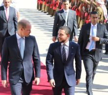 Britain's Prince William in Jordan for historic Middle East tour