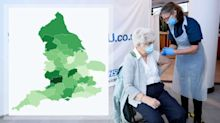 Interactive map shows how many over-80s have been vaccinated in your area