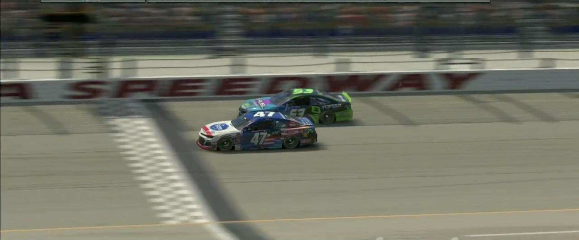 Nick Ottinger wins NASCAR America's iRacing All-Star race