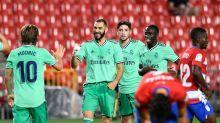 Real Madrid vence Granada e fica mais perto do título da Liga
