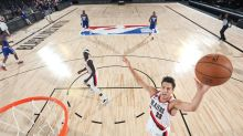 Trail Blazers big man Zach Collins is expected to be ready for game action in mid-January
